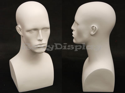 Mannequin Head Bust Wig Hat Jewelry Display #EraW2